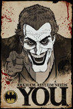 Batman Comic Joker Needs You Kunstdrucke