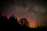 Milky Way above Aurora Glow Photographic Print by Latitude 59 LLP