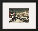Hunters in the Snow Prints by Pieter Bruegel the Elder