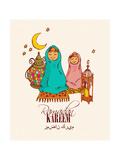 Holy Month of Muslim Community Festival Ramadan Kareem Posters by Tatsiana Tsyhanova