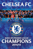 Chelsea Premier League Winners 14/15 Bilder