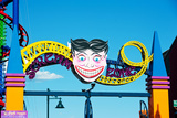 Coney Island's Amusement Park Entrance Sign Photographic Print by  pio3