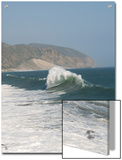 Dancing Wave Formation in Malibu California Prints by James Forte