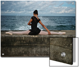 A Classic Ballerina from the Cuba National Ballet at the Malecon Posters by Kike Calvo