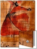 Beautiful Painting of a Whirling Dervish on Cloth with Arabic Script Posters by Gianluca Colla