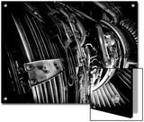 The Engine of a 737-400 Prints by Jorge Fajl
