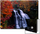 Brandywine Falls in the Cuyahoga National Recreation Area, Ohio Poster by Melissa Farlow