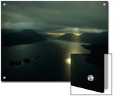 Aerial View of Dusky Sound Near the Southwestern Tip of South Island Posters by Gordon Gahan