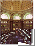 Interior of the Library of Congress, Washington, D.C. Prints by Kenneth Garrett