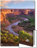 View from Tsegi Overlook, Cayon De Chelly National Monument, Arizona Print by Tim Fitzharris/Minden Pictures