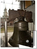 Independence Hall Overlooking the Liberty Bell Poster by Tim Laman