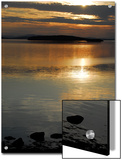 Sunset over the Calm Waters of Penobscot Bay, Maine Prints by Anne Keiser