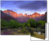 Towers of the Virgin, Zion National Park, Utah Art by Tim Fitzharris/Minden Pictures