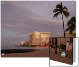 Sunrise at Waikiki Beach, Hawaii Posters by Stacy Gold