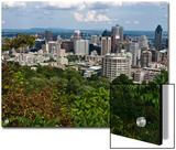 Birds Eye View of Montreal, Canada, from Mount-Royal Park Prints by Stacy Gold