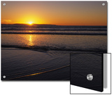 Sunset over the Pacific Ocean, Ventura, California Posters by Stacy Gold