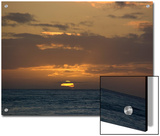 Beautiful Sunset over the Pacific Ocean, Hawaii Posters by Stacy Gold