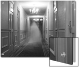 Ghost in the Hall at the Hawthorne Hotel, One of America's Most Haunted Posters by Steve & Donna O'Meara