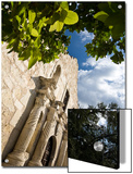 San Antonio, Texas, the Alamo, Side Angle Wide Angle View of Facade Posters by Richard Nowitz