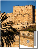 The Golden Gate, the Oldest of the Gates in Jerusalem's Old City Walls Posters by Richard Nowitz