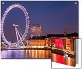 The London 'Eye' or Millennium Wheel Prints by Richard Nowitz