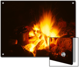 Campfire in Yellowstone Prints by Michael S. Quinton