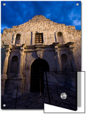 Front Facade of the Alamo Print by Richard Nowitz