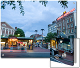 Harvard Square at Dusk Prints by Richard Nowitz