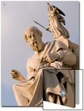 Statues of Plato and Athena in Front of the Academy of Athens Posters by Richard Nowitz