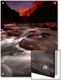 Granite Falls at Sunset in the Grand Canyon, Colorado Posters by Kate Thompson