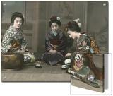 Geishas Perform a Tea Ceremony Prints by Eliza R. Scidmore
