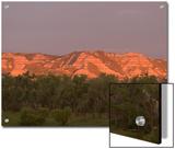 Eroded Hills Shot at Sunrise in Little Missouri National Grasslands Prints by Phil Schermeister