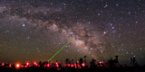 Amateur Astronomers are Gather an Annual Observing Competition Fotografisk tryk af Babak Tafreshi