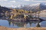 Reflections in Rock Isle Lake, Banff National Park; Banff National Park, Alberta, Canada Photographic Print by  Design Pics Inc