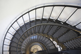 Spiral Stairway in Yaquina Head Lighthouse; Oregon United States of America Photographic Print by  Design Pics Inc