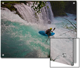 A Kayaker Running Spirit Falls, Little White Salmon River Prints by Jed Weingarten/National Geographic My Shot