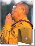 The Dalai Lama Prays During a Ceremony Prints by Alison Wright