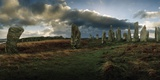 The Callanish Stones, a Megalithic Stone Circle Site Photographic Print by Macduff Everton