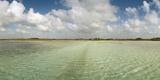 The Crystal Clear Water of an Ancient Maya Canal in Sian Ka'An Biosphere Reserve Lámina fotográfica por Macduff Everton