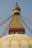 The Buddhist Stupa; Bodhnath, Kathmandu, Nepal Photographic Print by  Design Pics Inc