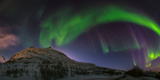 View of the Aurora Borealis, Northern Lights, in Northern Norway Photographic Print by Babak Tafreshi