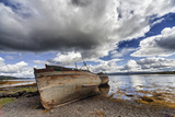 Weathered Boats Abandoned at the Water's Edge; Salem Isle of Mull Scotland Photographic Print by  Design Pics Inc
