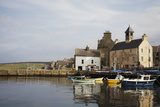 Village Houses and Boats in Harbor Photographic Print by  Design Pics Inc