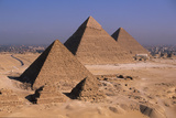 Pyramids of Giza Photographic Print by Marcello Bertinetti