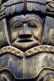 Closeup of Tlingit Totem Pole Sitka National Historic Park Sitka Alaska Southeast Summer Photographic Print by  Design Pics Inc