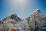 Mount Everest and Nuptse; Khumbu, Nepal Papier Photo par  Design Pics Inc