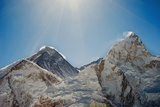 Mount Everest and Nuptse; Khumbu, Nepal Photographic Print by  Design Pics Inc