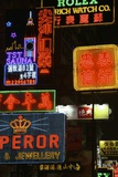 Neon Signs on Nathan Road, Close Up Photographic Print by  Design Pics Inc