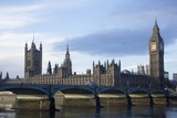 The Parliament Square and the Thames in London Photographic Print by  Design Pics Inc