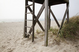 New England, Massachusetts, Cape Cod, Close Up of an Abandoned Lifeguard Station on Beach Photographic Print by  Design Pics Inc